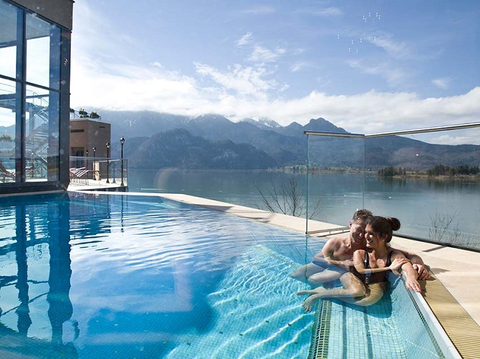 Wellness in der Alpentherme Kochel